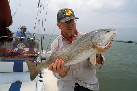 Fishing on the Texas coast Photo courtesy of TPWD, 2004