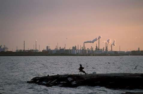 Galveston Bay Industry Photo courtesy of Earl Nottingham, TPWD