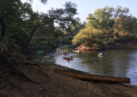 The Cherokee Neches Paddling trail is a part of the public Texas Paddling Trails network.