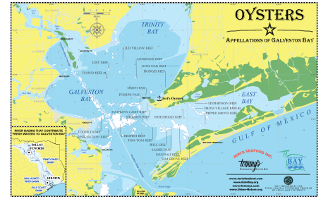 oyster map