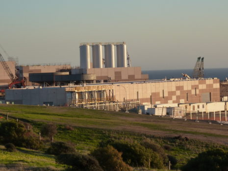 Desalination plant in Adelaide, South Australia