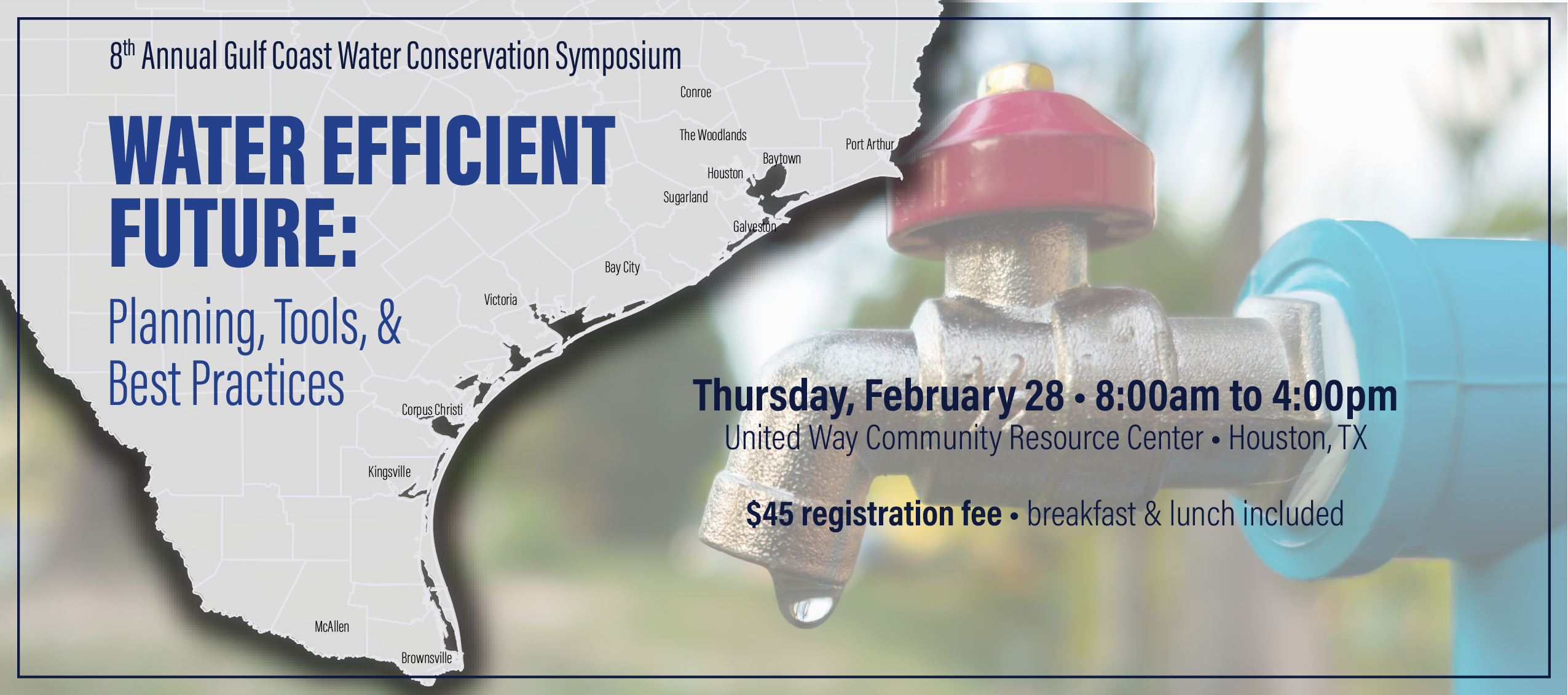 Gulf Coast Water Conservation Symposium 2019